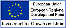 European Union - European Regional Development Fund - Investment for Growth and Jobs