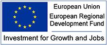 European Union - European Regional Development Fund - Investment for Growth and Jobs